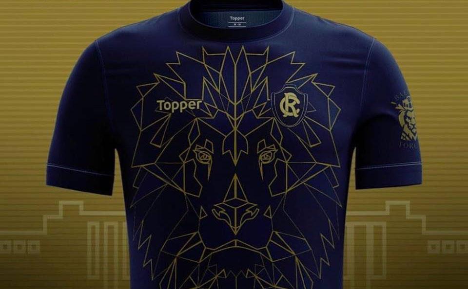 Camisa do Remo 2018 Leão de Pedra