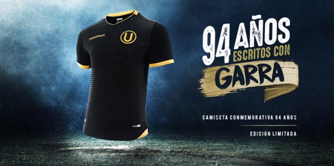 Camisa dos 94 anos do Universitario Deportes 2018-2019 Marathon