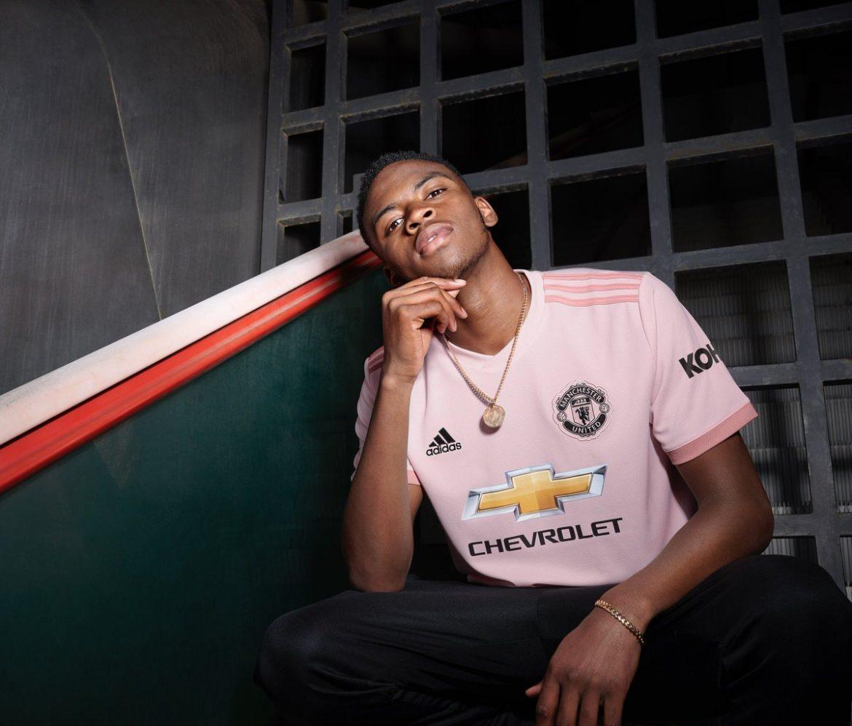 Camisa reserva do Manchester United 2018-2019 Adidas