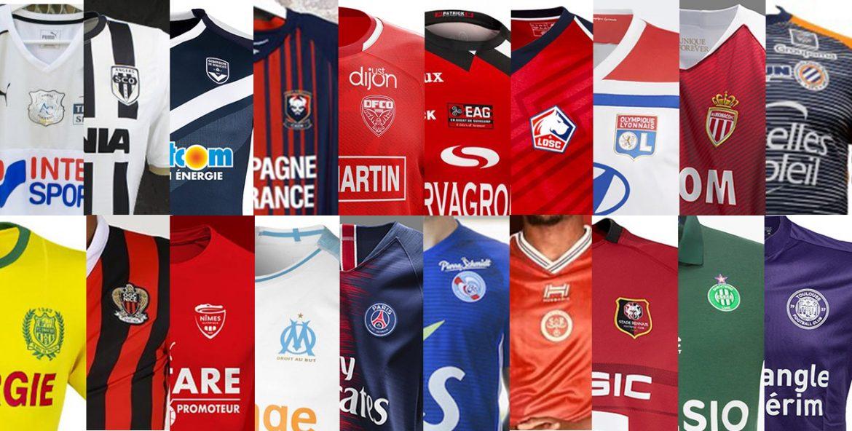 Camisas da Ligue 1 2018-2019