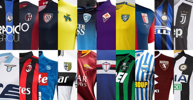 Camisas da Serie A 2018-2019