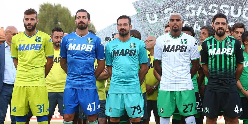Camisas da US Sassuolo 2018-2019 Kappa