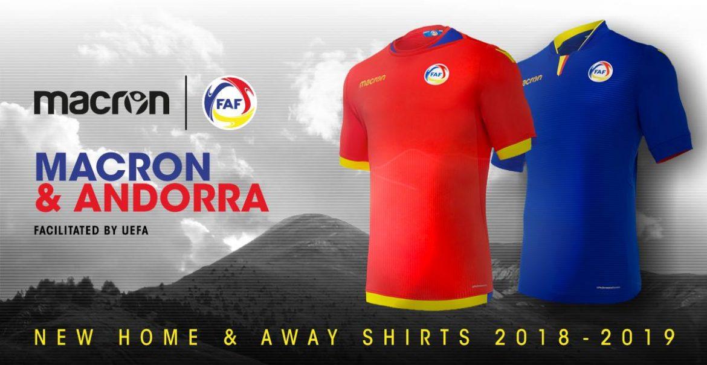 Camisas de Andorra 2018-2019 Macron