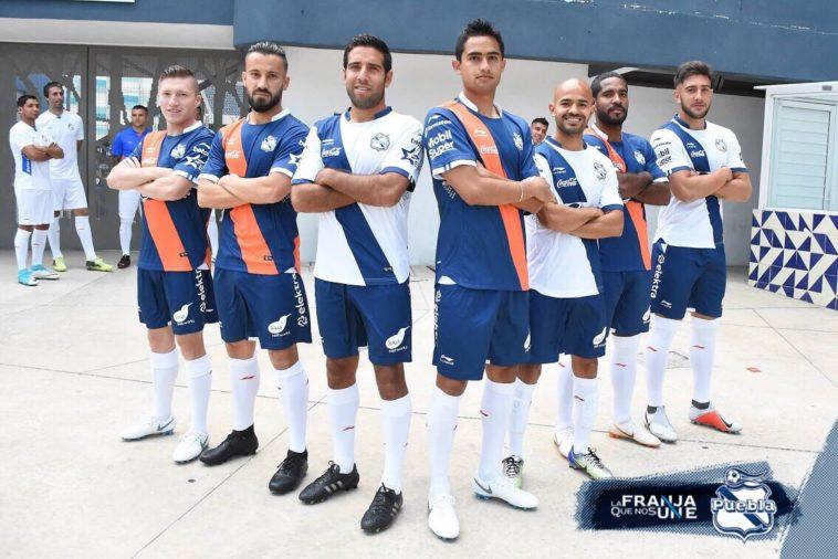 Camisas do Club Puebla 2018-2019 Li-Ning