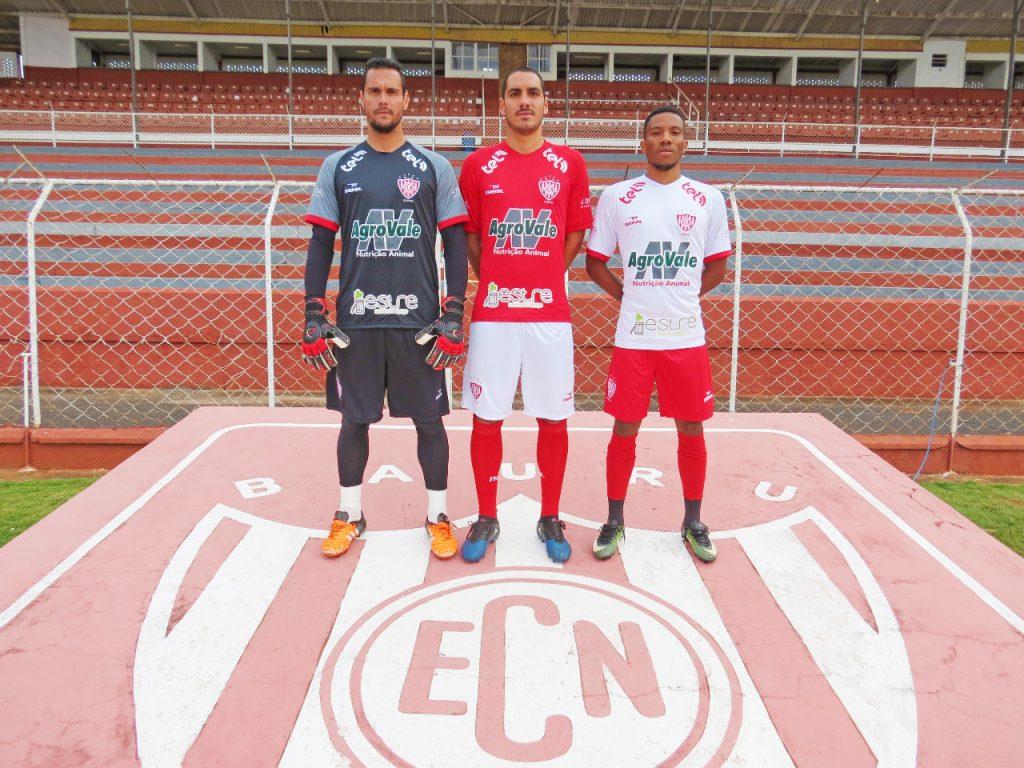 Camisas do EC Noroeste 2018-2019 Nakal
