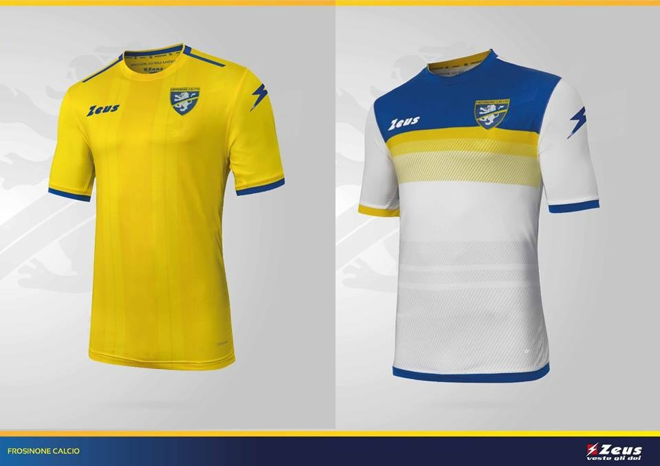 Camisas do Frosinone 2018-2019 Zeus