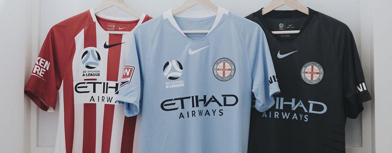 Camisas do Melbourne City 2018-2019 Nike