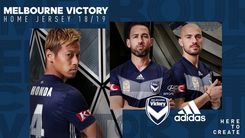 Camisas do Melbourne Victory 2018-2019 Adidas