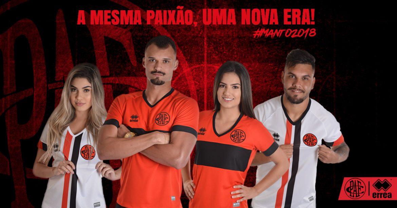 Camisas do Pouso Alegre FC 2018-2019 Erreà