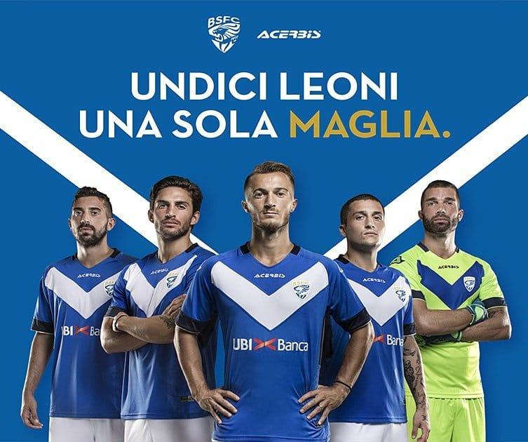 Camisas em Brescia Calcio 2018-2019 Acerbis
