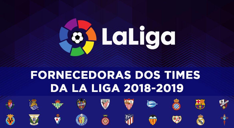 Fornecedoras da La Liga 2018-2019 abre