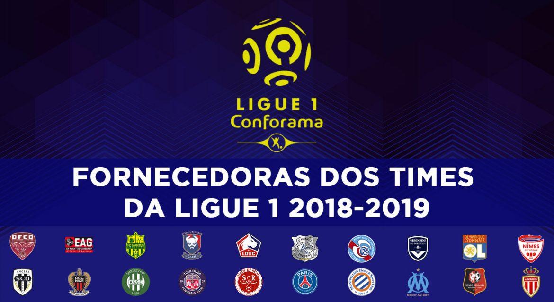 Fornecedoras da Ligue 1 2018-2019 abre