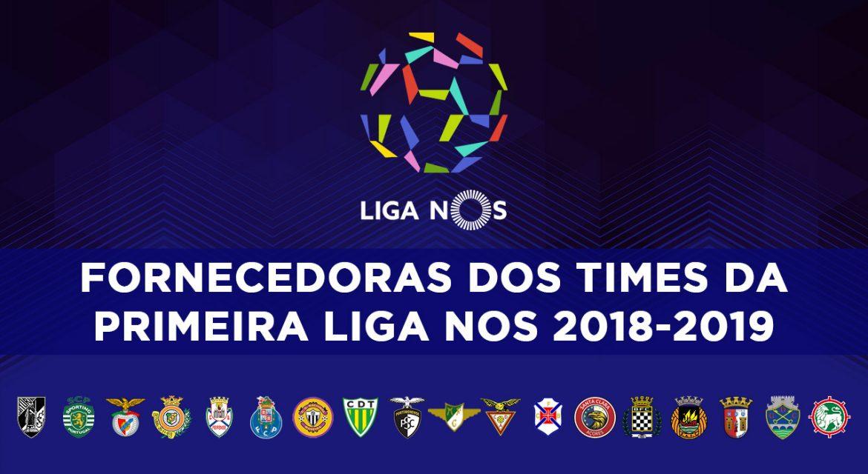 Fornecedoras da Primeira Liga NOS 2018-2019 abre