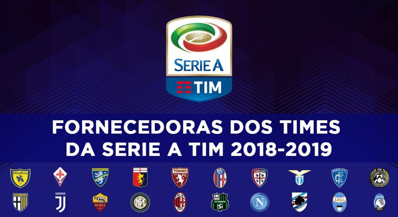 Fornecedoras da Serie A 2018-2019 abre