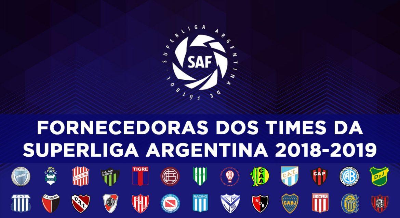 Fornecedoras da Superliga Argentina 2018-2019 abre