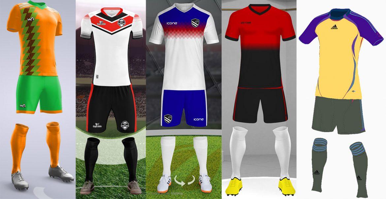 Simuladores de Uniformes de Futebol