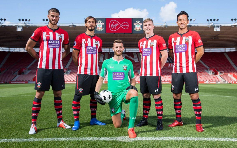 Southampton irá estampar marca da Scope em sua camisa