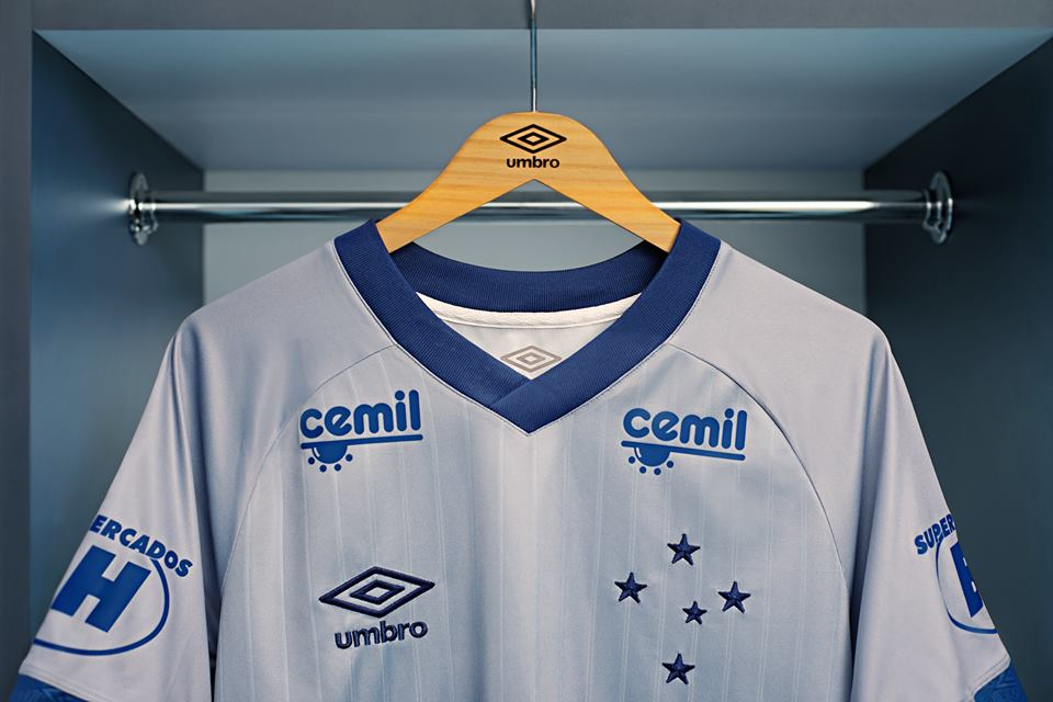 Terceira camisa do Cruzeiro 2018-2019 Umbro