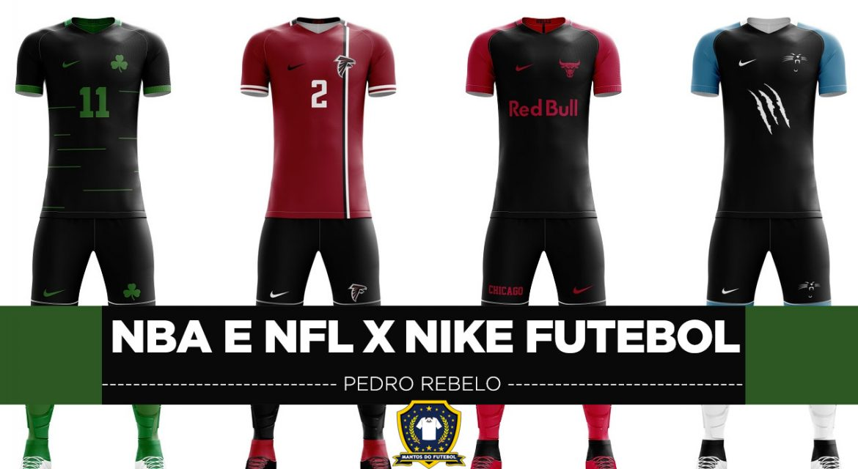 Leitor MDF: Camisas de futebol de times da NBA e NFL Nike (Pedro Rebelo)