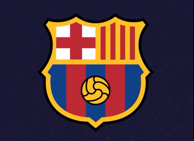 Barcelona propõe modernização no escudo oficial
