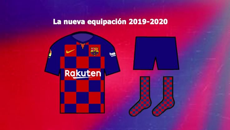 Barcelona pode ter camisa titular quadriculada em 2019-2020