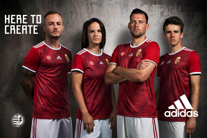Camisas da Hungria 2018-2019 Adidas