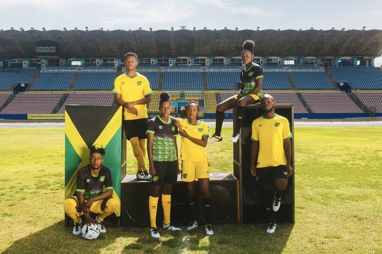 Camisas da Jamaica 2018-2019 Umbro