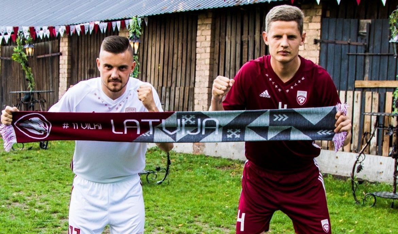 Camisas da Letônia 2018-2019 Adidas