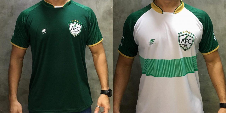 Camisas do Alecrim FC 2018-2019 Spin