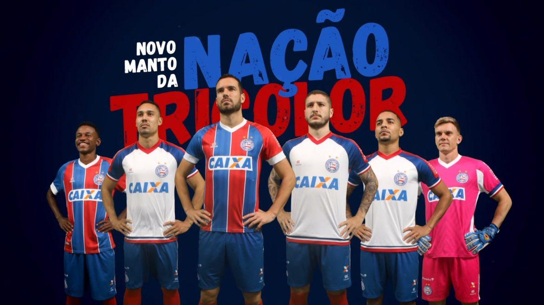 Camisas do Bahia 2018-2019 Esquadrão