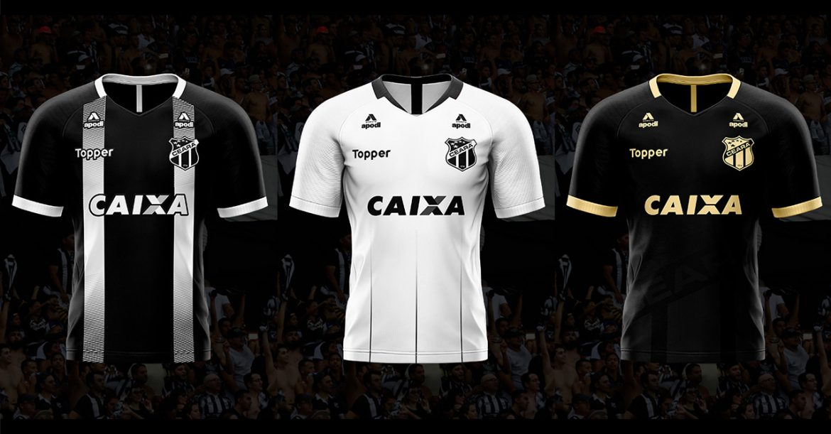 Camisas do Ceará 2018-2019 Topper JPereira Design
