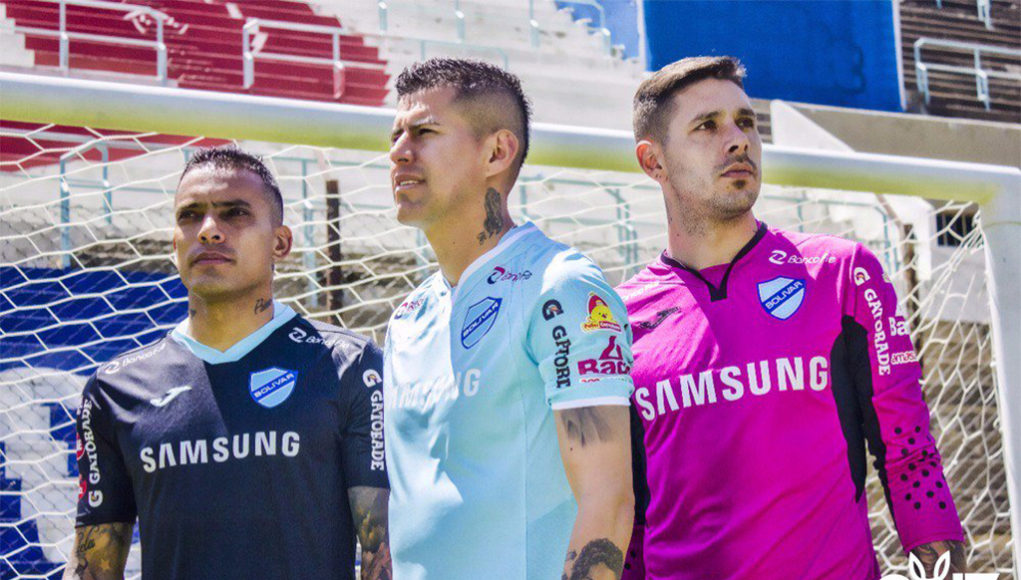 Camisas do Club Bolívar 2018-2019 Joma