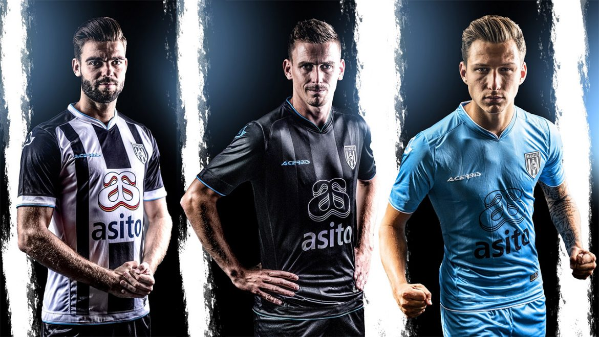 Camisas do Heracles Almelo 2018-2019 Acerbis