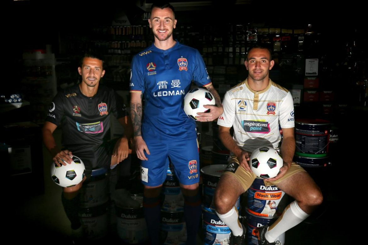 Camisas do Newcastle Jets 2018-2019 Viva Global