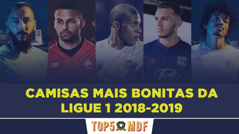 Camisas mais bonitas da Ligue 1 2018-2019 - TOP5