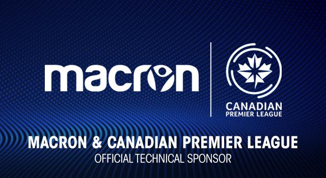 Equipes da Canadian Premier League vestirão uniformes Macron