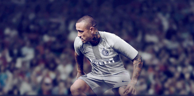 Terceira camisa cinza da Inter de Milão 2018-2019 Nike