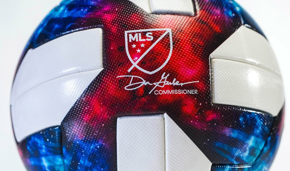Bola da MLS Nativo 2019 Adidas abre