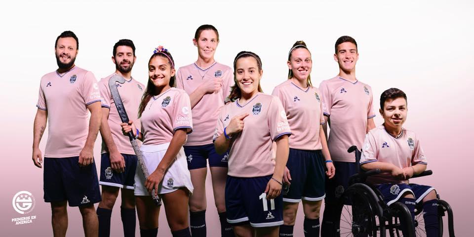 Camisa Outubro Rosa do Gimnasia La Plata 2018 Le Coq Sportif