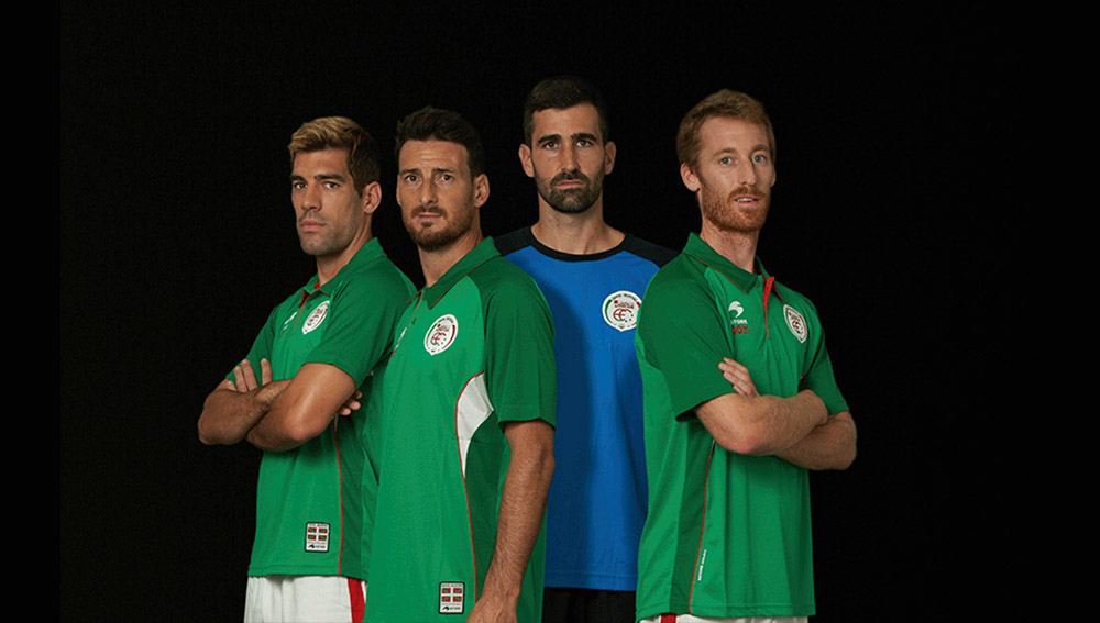 Camisas do País Basco 2018-2019 Astore