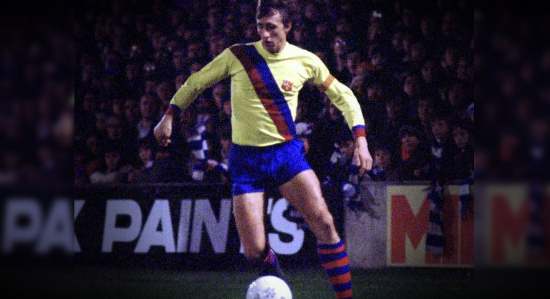 Camisa reserva do Barcelona 2019-2020 será inspirada em Johan Cruyff