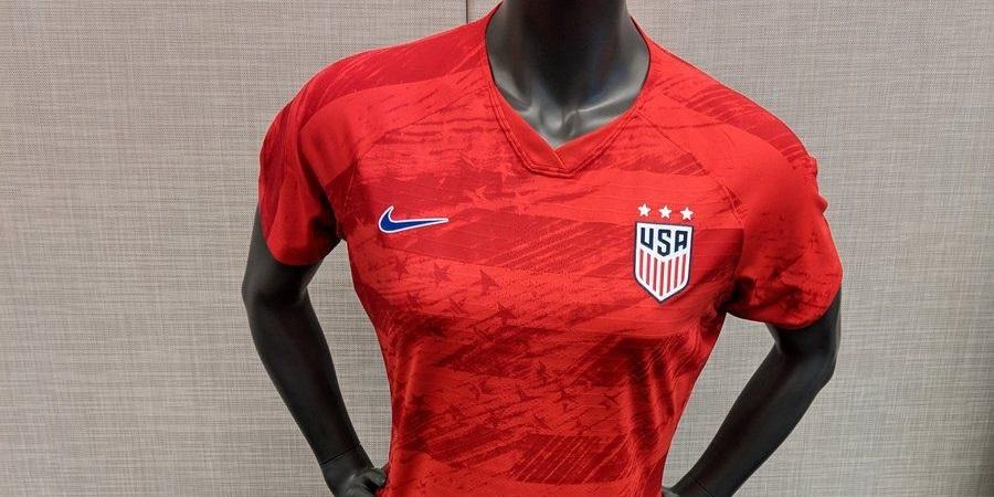 Camisas da Seleção Americana Feminina 2018-2019 Nike