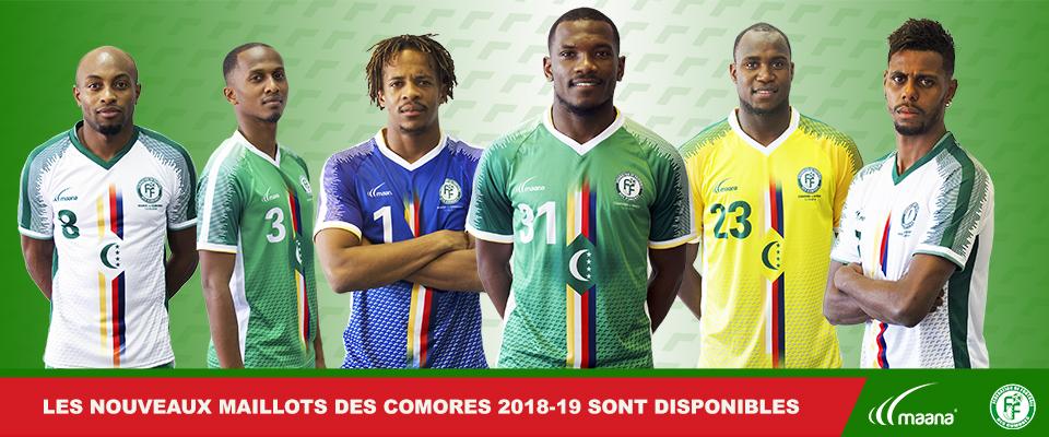 Camisas de Comores 2018-2019 Maana Sport
