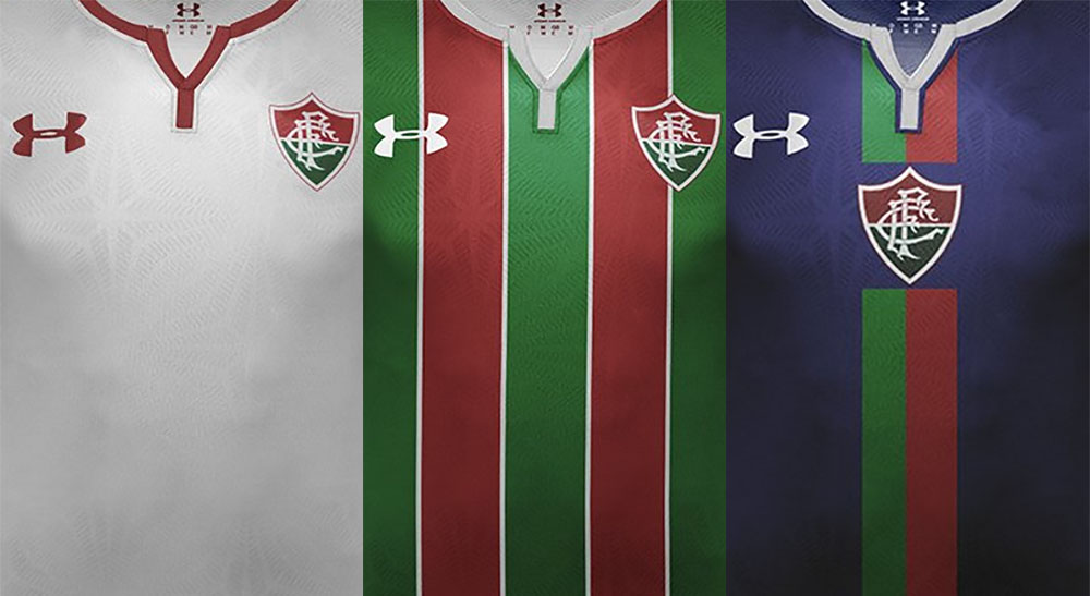 Camisas do Fluminense 2018-2019 Under Armour Francisco Moreira abre
