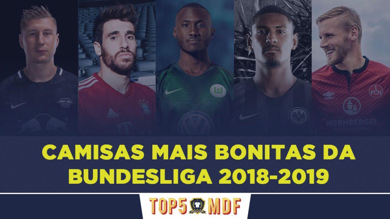 Camisas mais bonitas da Bundelisga 2018-2019 - TOP5
