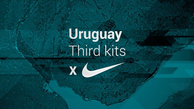 Designer cria versões thirds da Nike para clubes de Montevideo