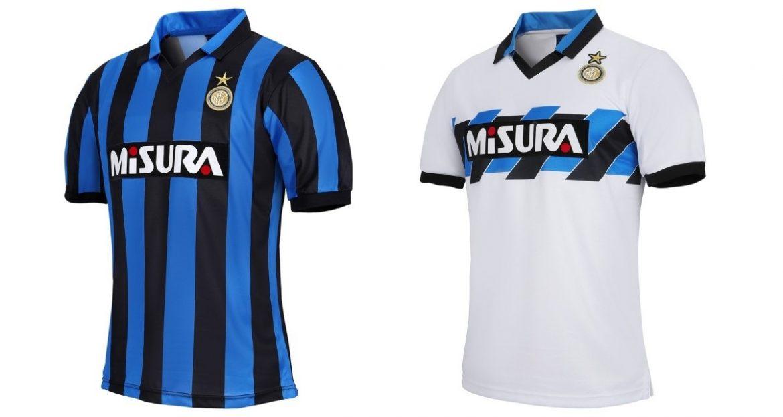 Inter de Milão lança coleção retrô 1990-1991
