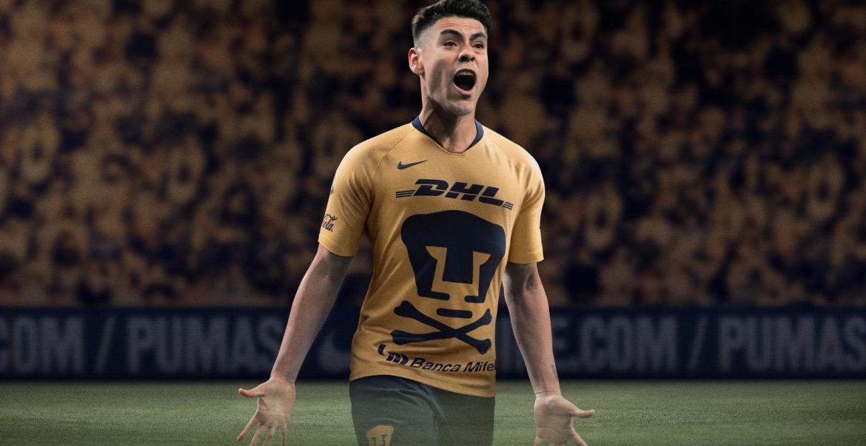 "Camisa ""Dia de Los Muertos"" do PUMAS 2018 Nike"