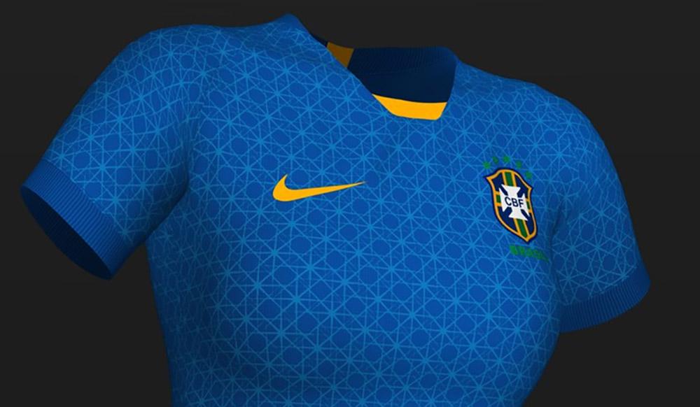 Seleção Brasileira Feminina deve ter camisa azul com constelações