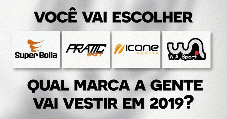 Atlético Carioca fornecedora 2019